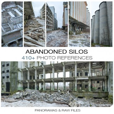 Abandoned Silos Photo Packs