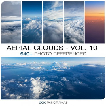 AERIAL CLOUDS - PHOTO PACK VOL. 10