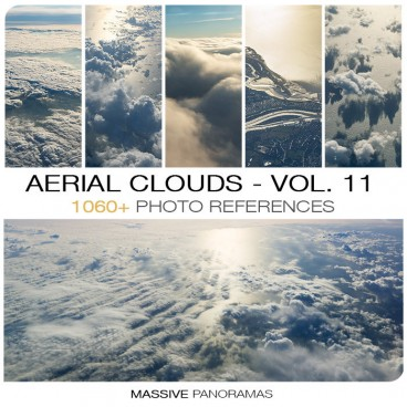 AERIAL CLOUDS - PHOTO PACK VOL. 11 Photo Packs