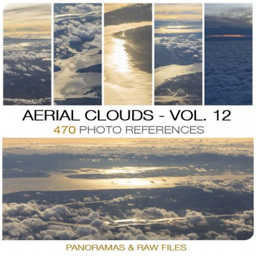 Aerial Clouds - Photo Pack vol. 12 Photo Packs