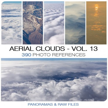 Aerial Clouds - Photo Pack vol. 13 Photo Packs