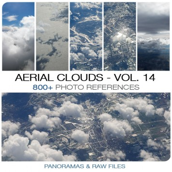 Aerial Clouds - Photo Pack vol. 14 Photo Packs