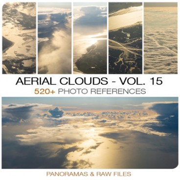 Aerial Clouds - Photo Pack vol. 15 Photo Packs