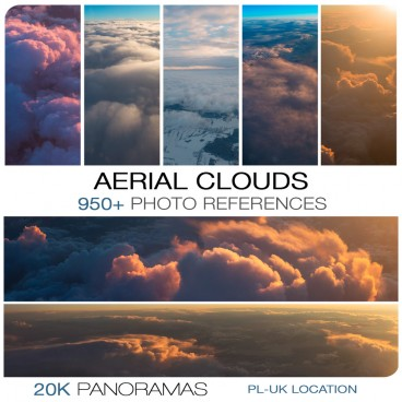 AERIAL CLOUDS - PHOTO PACK VOL. 2