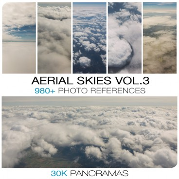 AERIAL CLOUDS - PHOTO PACK VOL. 3