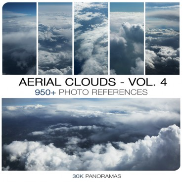 AERIAL CLOUDS - PHOTO PACK VOL. 4