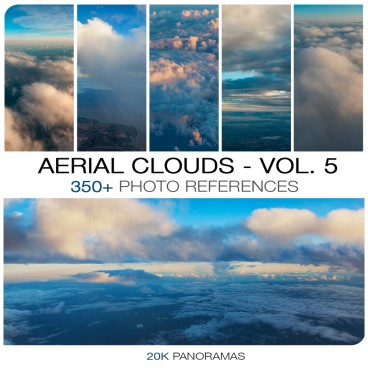 AERIAL CLOUDS - PHOTO PACK VOL. 5
