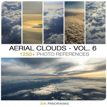 AERIAL CLOUDS - PHOTO PACK VOL. 6