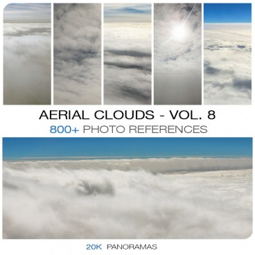 AERIAL CLOUDS - PHOTO PACK VOL. 8