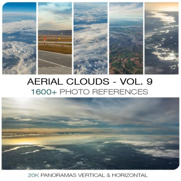 AERIAL CLOUDS - PHOTO PACK VOL. 9
