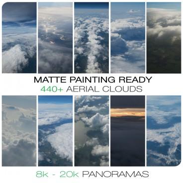 Aerial skies - photo pack  Photo Packs