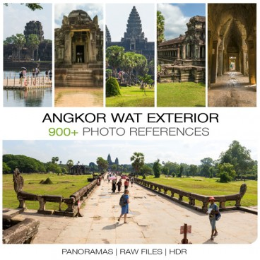 Angkor Wat - Exterior  Photo Packs