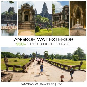 Angkor Wat Temple - Exterior