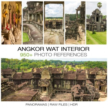 Angkor Wat - Interior Photo Packs