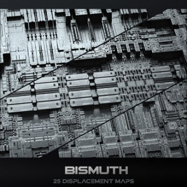 Bismuth - Displacement Maps Pack