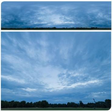 Blue Clouds 2382 (30k) Panoramas