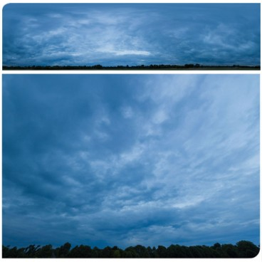 Blue Clouds 2509 (30k) Panoramas