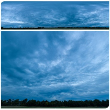 Blue Clouds 2537 (30k) HDRI Panoramas