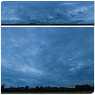 Blue Clouds 2686 (30k) Panoramas