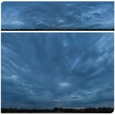 Blue Hour 2713 (58k) Panoramas