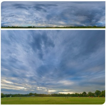 Blue Sunset 4553 (30k) HDRI Panoramas