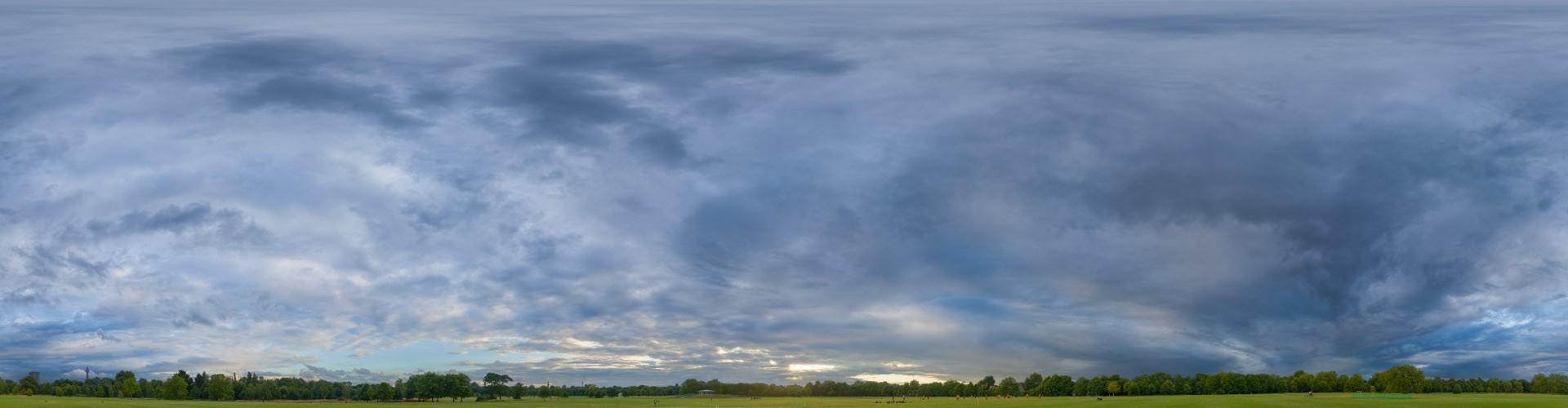 Blue Sunset 4553 (30k) HDRI