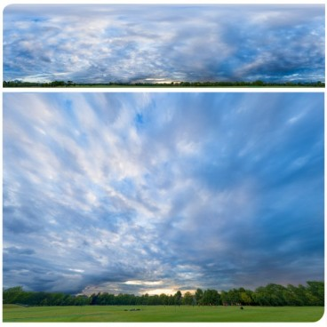 Blue Sunset 4866 (30k) HDRI Panoramas