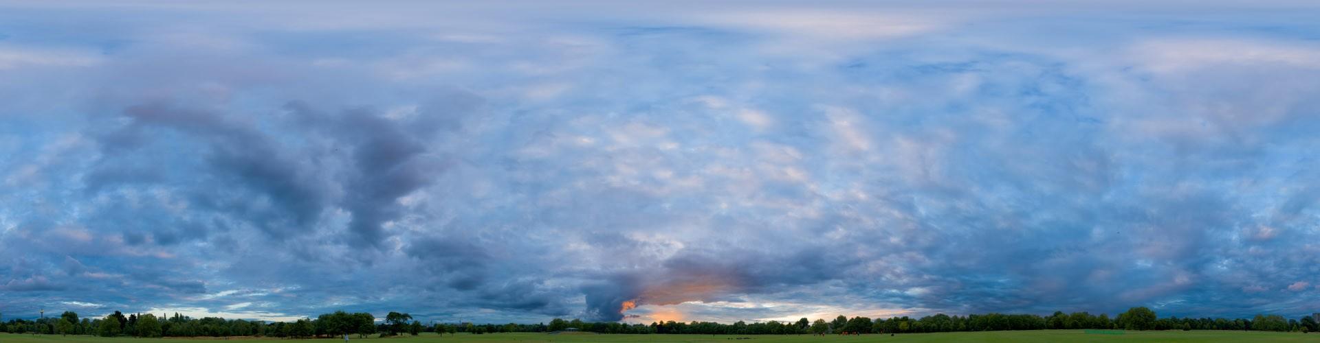 Blue Sunset 5482 (60k) HDRI