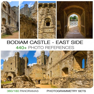 BODIAM CASTLE - EAST SIDE