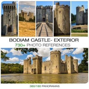 BODIAM CASTLE - EXTERIOR