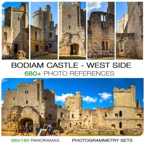 BODIAM CASTLE - WEST NORTH/SOUTH