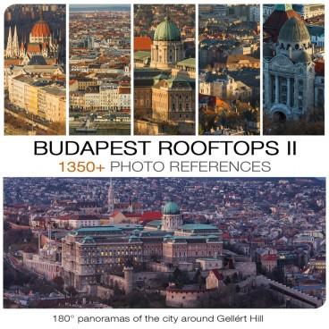 BUDAPEST ROOFTOPS II