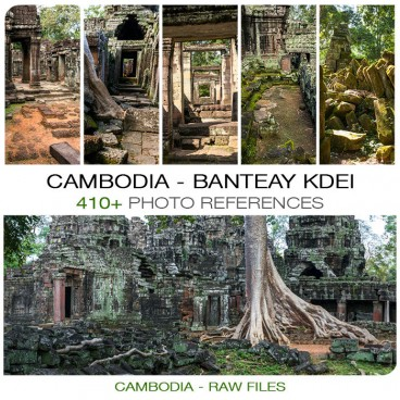 Cambodia - Banteay Kdei Temple Photo Pack