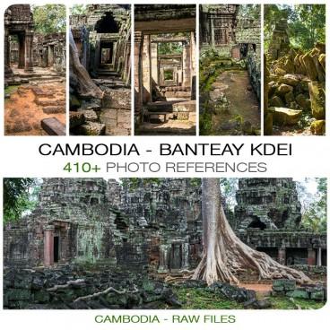 Cambodia -Banteay Kdei Temple