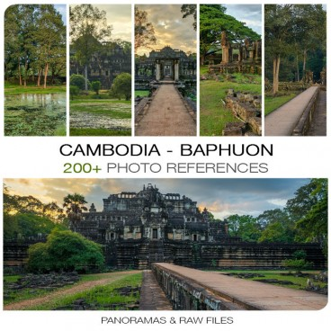 Cambodia - Baphuon Photo Packs