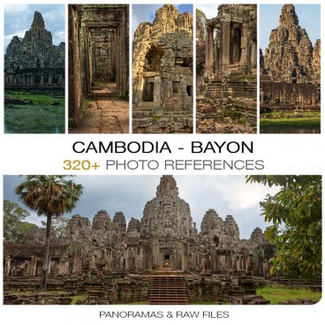 Cambodia - Bayon Temple Photo Packs