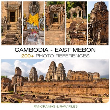 Cambodia - East Mebon Temple Photo Packs