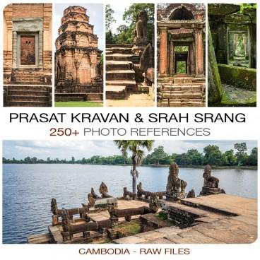 Cambodia - Prasat Kravan & Srah Srang
