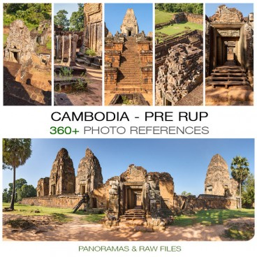 Cambodia - Pre Rup Temple Photo Packs