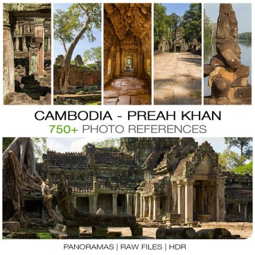 Cambodia - Preah Khan Photo Packs
