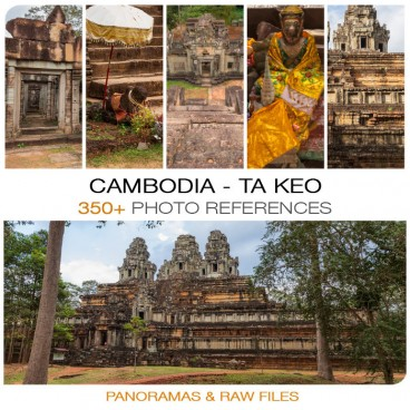 Cambodia - Ta Keo Photo Packs