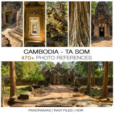 Cambodia - Ta Som Photo Packs