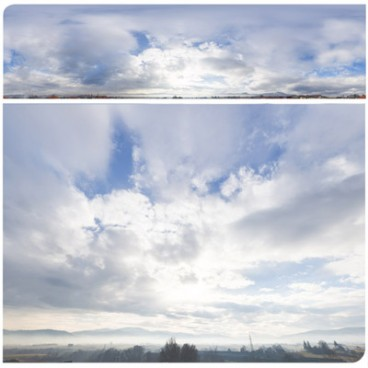 Cloudy Mountains 2515 (30k) HDRI