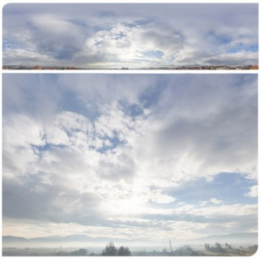 Cloudy Mountains 2563 (30k) HDRI