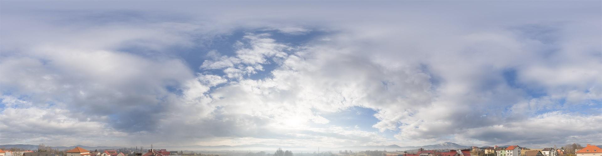 Cloudy Mountains 2611 (30k) HDRI