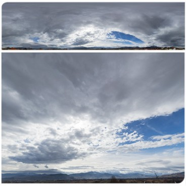 Cloudy Mountains 8277 (30k) HDRI Panoramas