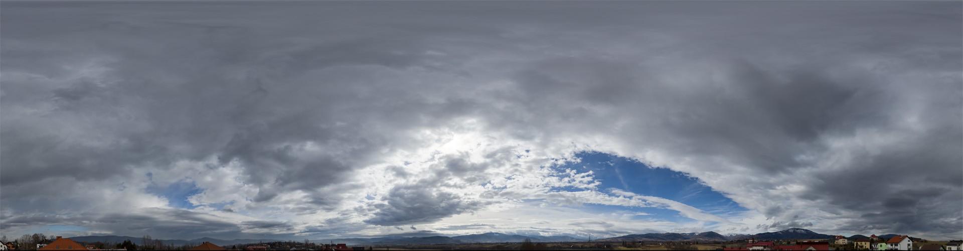 Cloudy Mountains 8277 (30k) HDRI