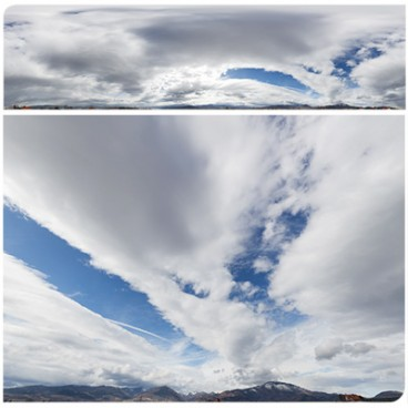 Cloudy Mountains 8623 (30k) HDRI Panoramas