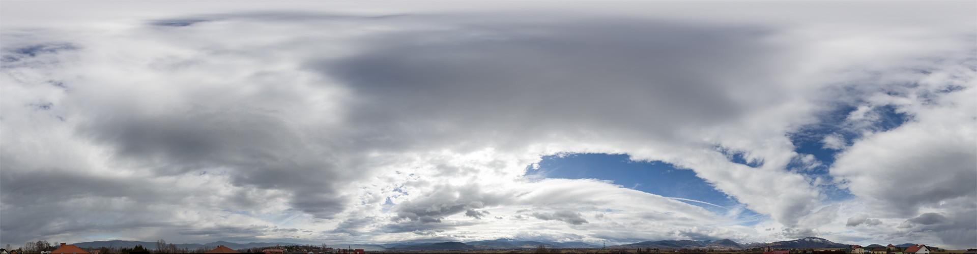 Cloudy Mountains 8623 (30k) HDRI