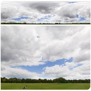 Cloudy Sky 7425 (30k) HDRI Panoramas